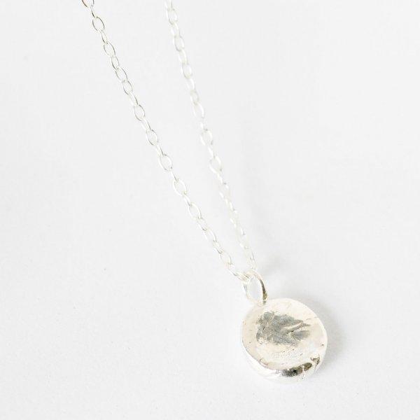 Disc Necklace - Kette aus recyceltem Silber