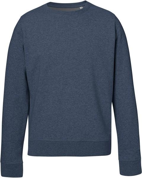 Rise - Sweatshirt aus Bio-Baumwolle - dark heather blue