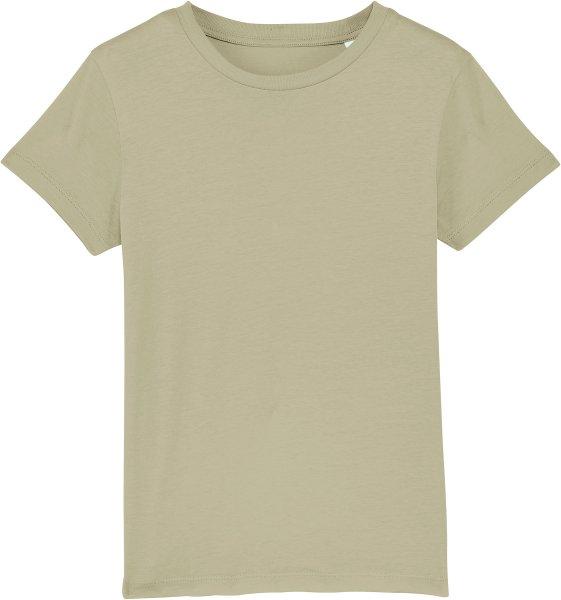 Kinder T-Shirt aus Bio-Baumwolle - sage