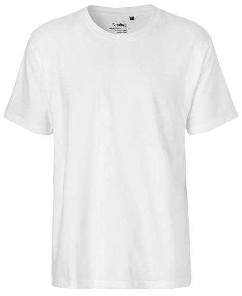 Herren Classic T-Shirt weiss Bio-Baumwolle - Neutral