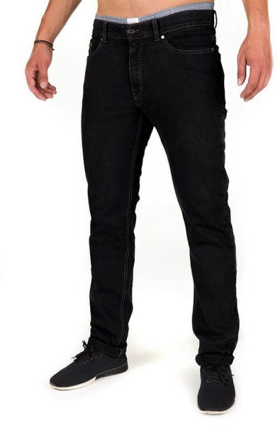 Organic Cotton Jeans - Slim Fit - black