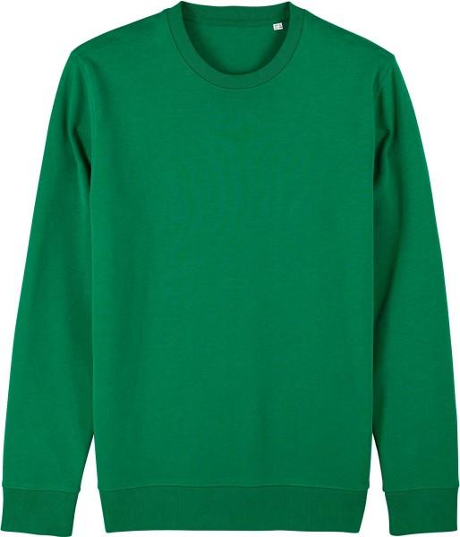 Unisex Sweatshirt aus Bio-Baumwolle - varsity green