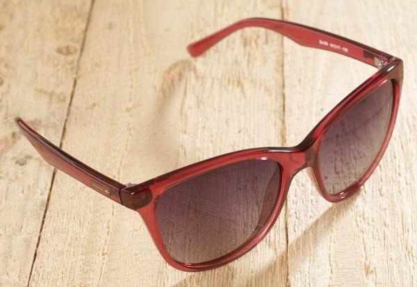 Toledo - Sonnenbrille - weinrot