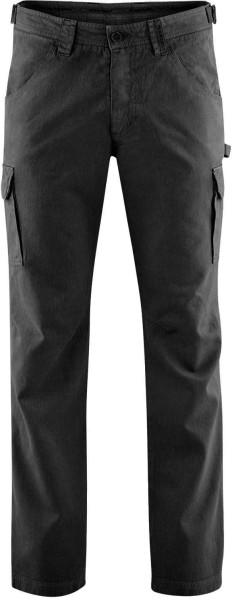Field Pants - Cargohose aus Hanf und Bio-Baumwolle - schwarz