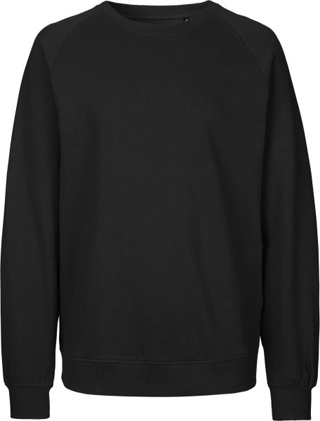 Organic Sweatshirt Fairtrade schwarz