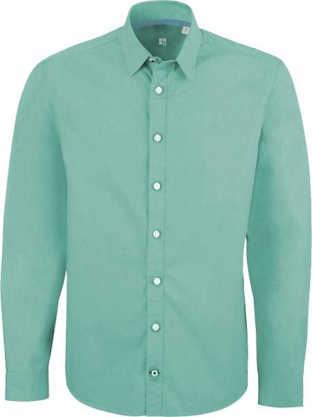 Impresses - Hemd aus Biobaumwolle - mint