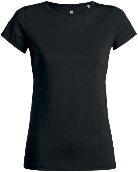 Wants - T-Shirt aus Bio-Baumwolle - schwarz
