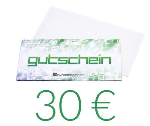30,- EUR Geschenkgutschein - neutrales Design - Bild 1