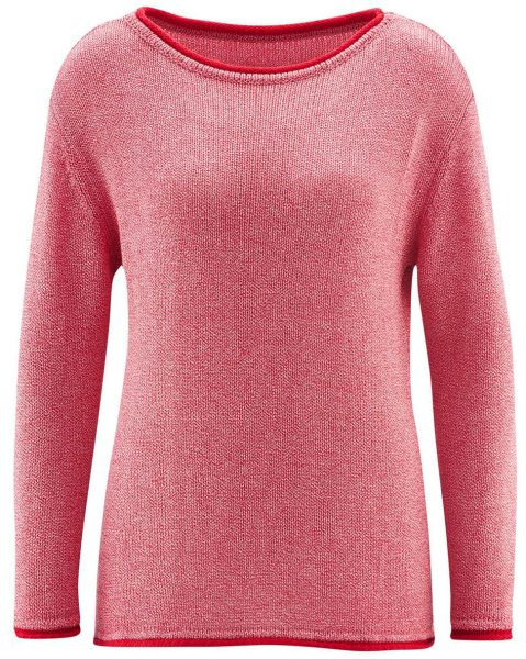 Strick-Pullover Biobaumwolle Damen-fair-Living-Crafts