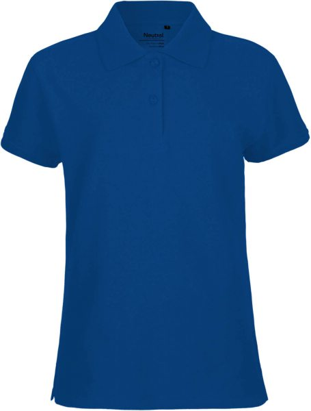 Pique Polo Shirt Damen Biobaumwolle Neutral