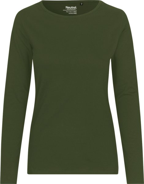 Neutral - Longsleeve Damen - military