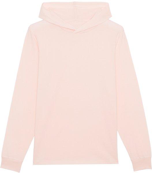 Unisex Jersey-Hoodie aus Bio-Baumwolle - candy pink