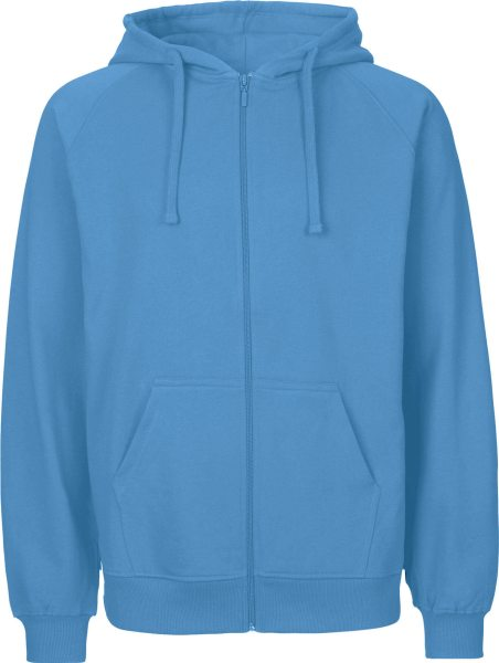 Zip-Up Hoodie aus Fairtrade Bio-Baumwolle - dusty indigo