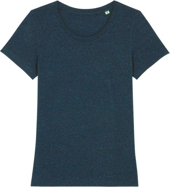 T-Shirt aus Bio-Baumwolle - dark heather denim