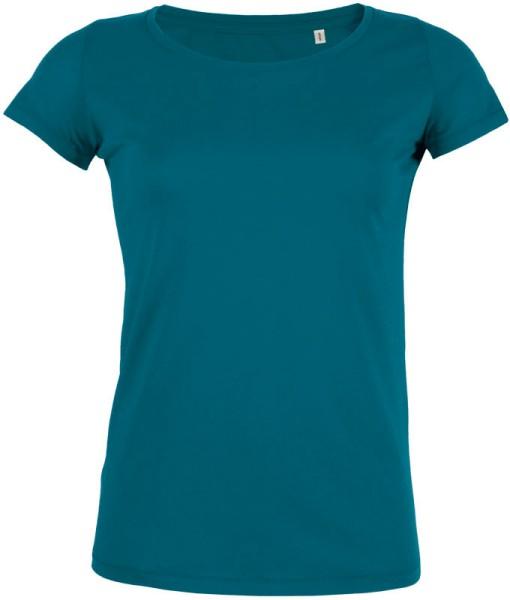 Loves - Jerseyshirt aus Bio-Baumwolle - petrol - Bild 1