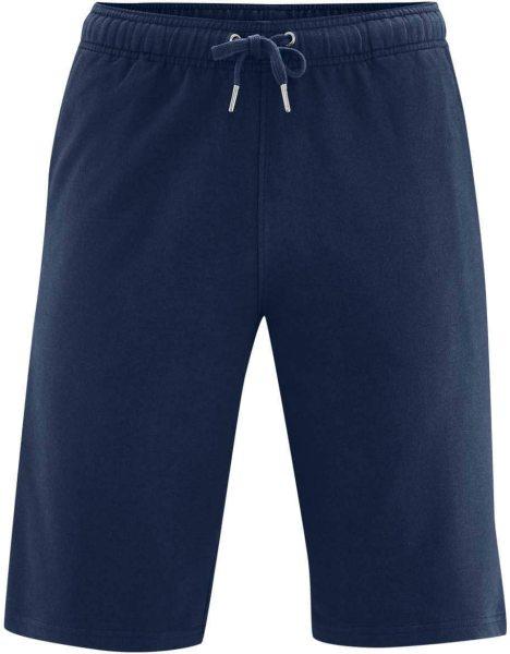 Sweat-Shorts aus Bio-Baumwolle - navy