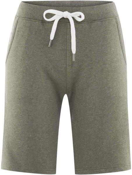 Sweat-Shorts aus Bio-Baumwolle - oregano
