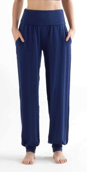 Yoga Pants aus Tencel - navy