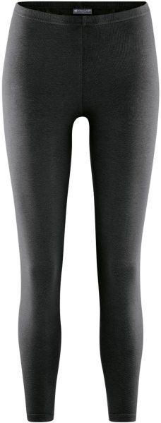 Leggings aus Bio-Baumwolle und Hanf - schwarz