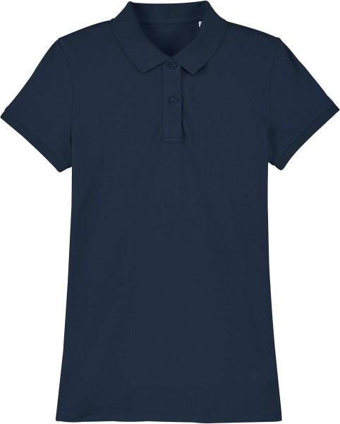 Piqué-Poloshirt aus Bio-Baumwolle - french navy