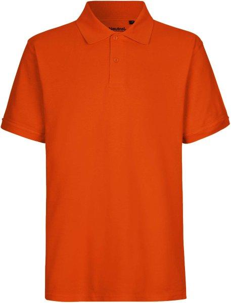 Classic Polo-Shirt aus Fairtrade Bio-Baumwolle - orange