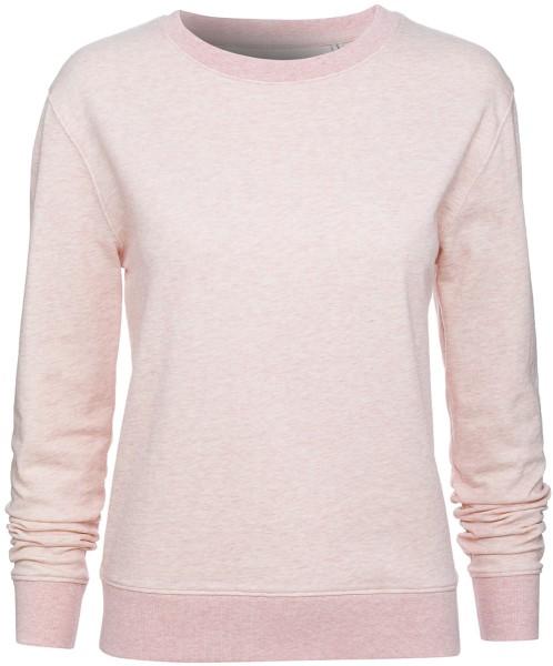 Sweater aus Biobaumwolle - cream heather pink