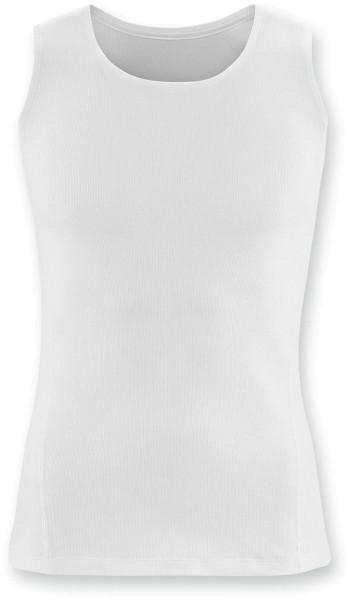 Unterhemd ohne Arm - Biobaumwolle - weiss - Bild 1