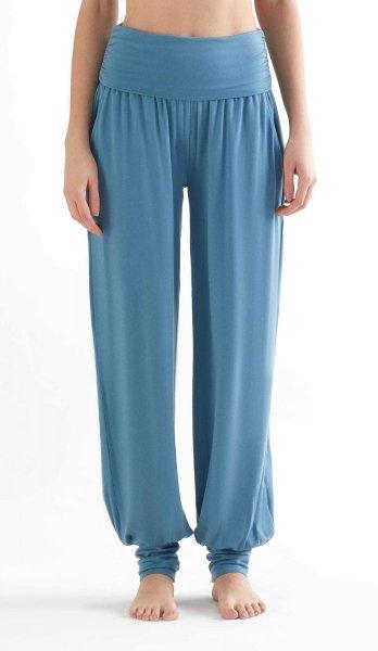 Yoga Pants aus Tencel - atlantic blue