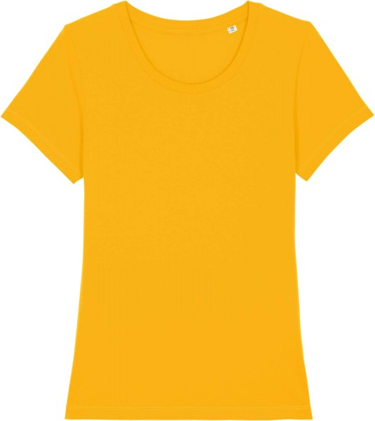 T-Shirt aus Bio-Baumwolle - spectra yellow