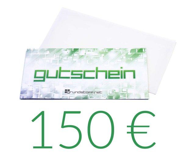 150,- EUR Geschenkgutschein - neutrales Design