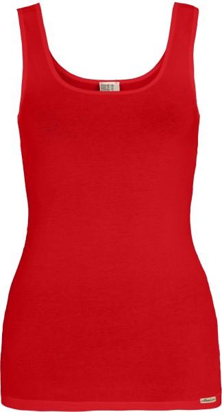 Rotes Unterhemd aus Fairtrade Biobaumwolle