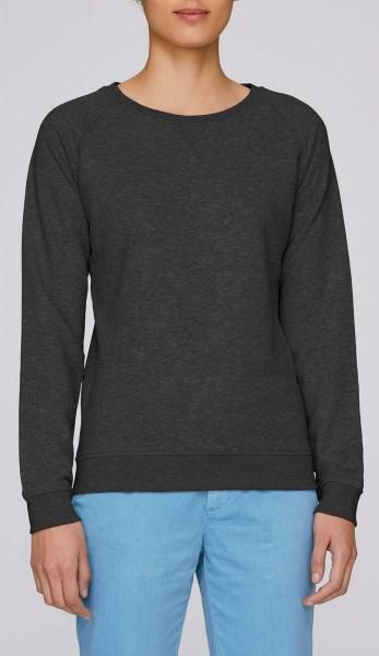 Trips - Sweatshirt aus Bio-Baumwolle - dunkelgrau meliert - Bild 1