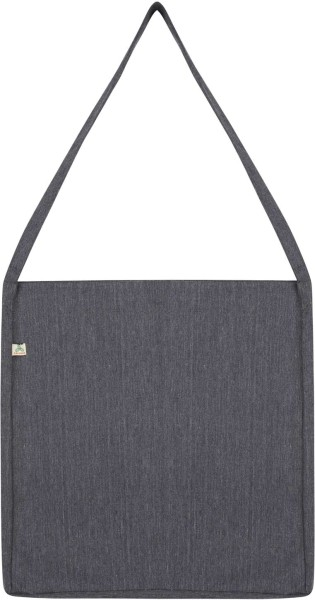 Recycled Sling Bag aus Baumwolle & Polyester - melange heather