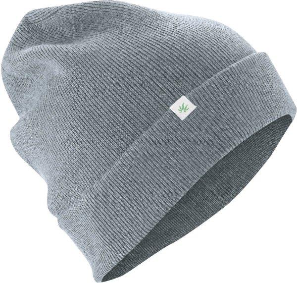 Wintermütze aus Wolle, Bio-Baumwolle und Hanf - mouse
