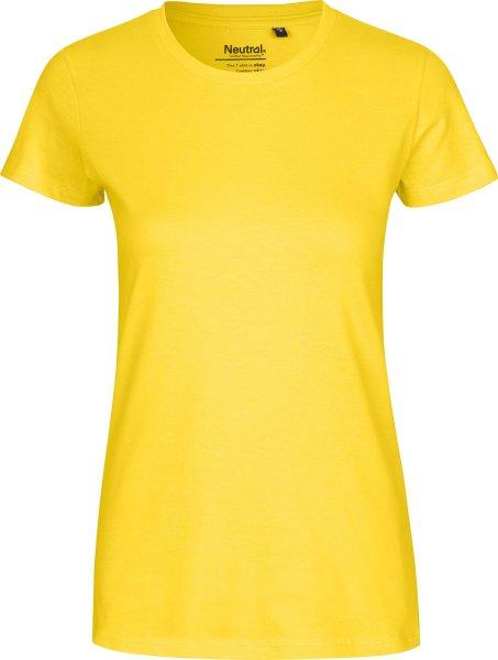 Classic T-Shirt aus Fairtrade Bio-Baumwolle - yellow