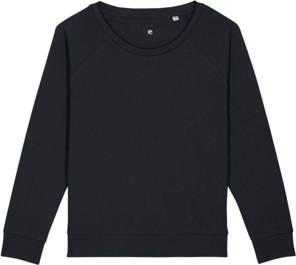Sweatshirt aus Bio-Baumwolle - black