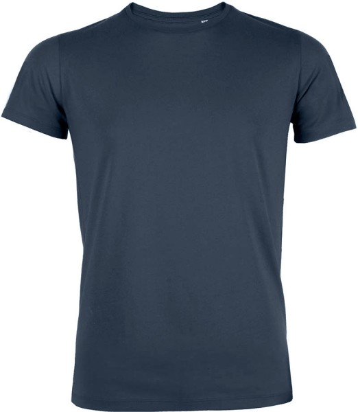 Feels - Slim-Fit T-Shirt aus Bio-Baumwolle - navy