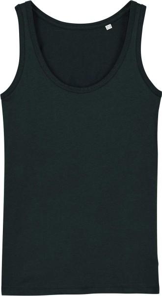 Tank-Top aus Bio-Baumwolle - black