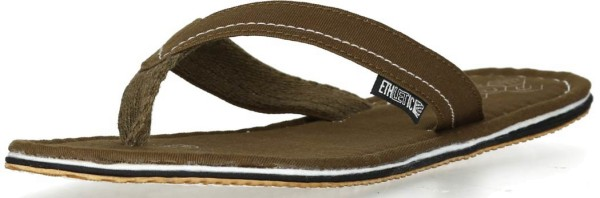 Ethletic Flipflops in olivgrün - Fairtrade Bio-Baumwolle