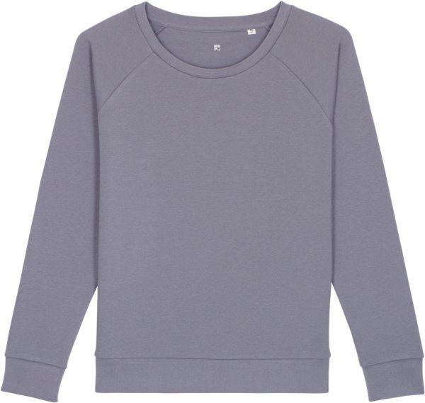 Sweatshirt aus Bio-Baumwolle - lava grey