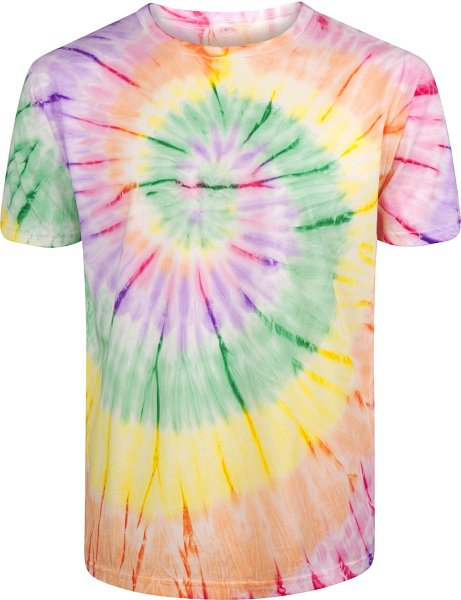 Organic T-Shirt CO2-neutral - tie dye