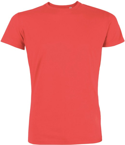 Leads - T-Shirt aus Bio-Baumwolle - hot coral