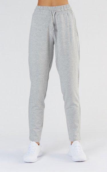 Jogging Hose aus Bio-Baumwolle & Modal - light grey melange