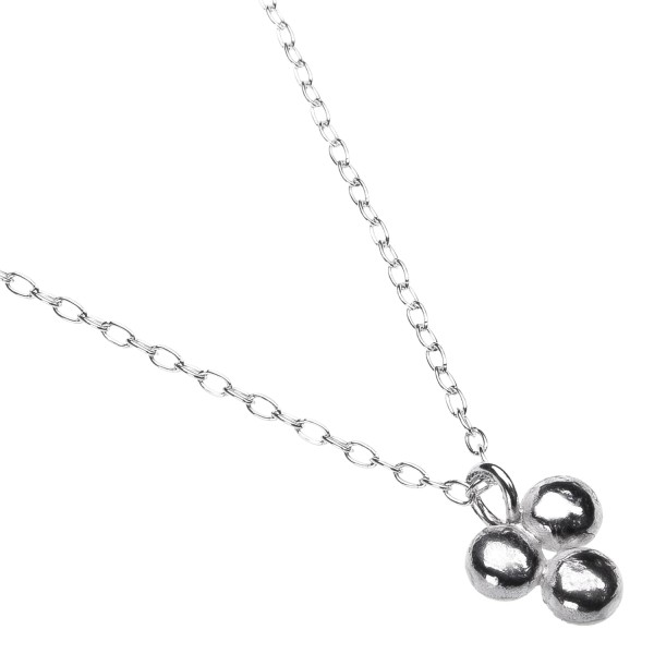 Triple Dot Necklace - Kette aus recyceltem Silber