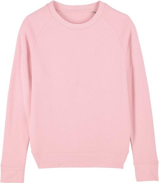 Sweatshirt aus Bio-Baumwolle - cotton pink
