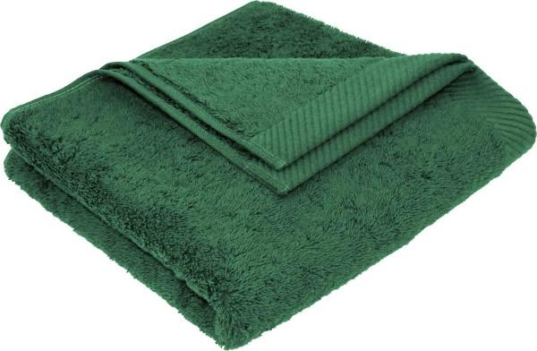 Flauschiges Handtuch aus Bio-Baumwolle - 50x100 forest green