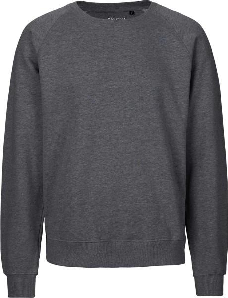 Sweatshirt aus Fairtrade Bio-Baumwolle - dark heather