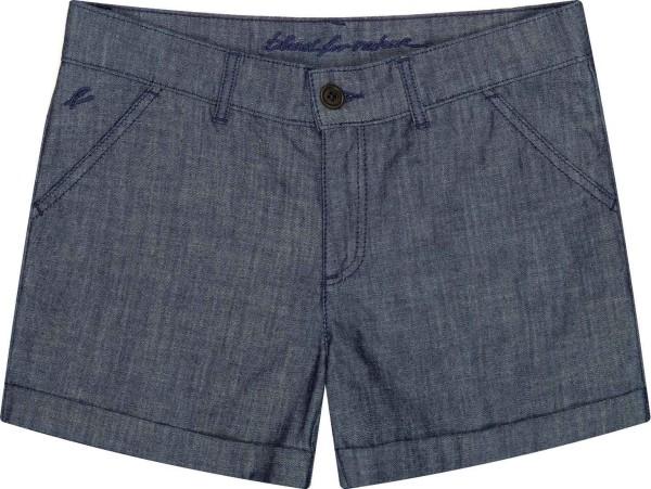 Denim Chino Shorts aus Bio-Baumwolle - denimblau