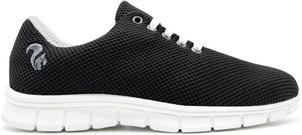 Mesh Sneaker aus recyceltem Mais - schwarz