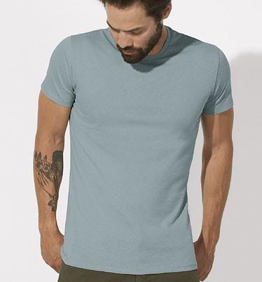 Feels - Slim-Fit T-Shirt aus Bio-Baumwolle - citadel blue - Bild 1